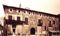Univesitat Literària, actual Consell Comarcal (Fonts J. Cuadrench)