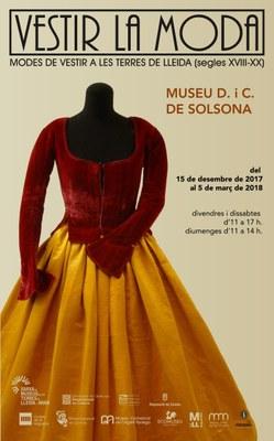 EXPOSICIÓ: 'Vestir a la moda. Modes de vestir a les terres de Lleida (s. XVIII-XX)