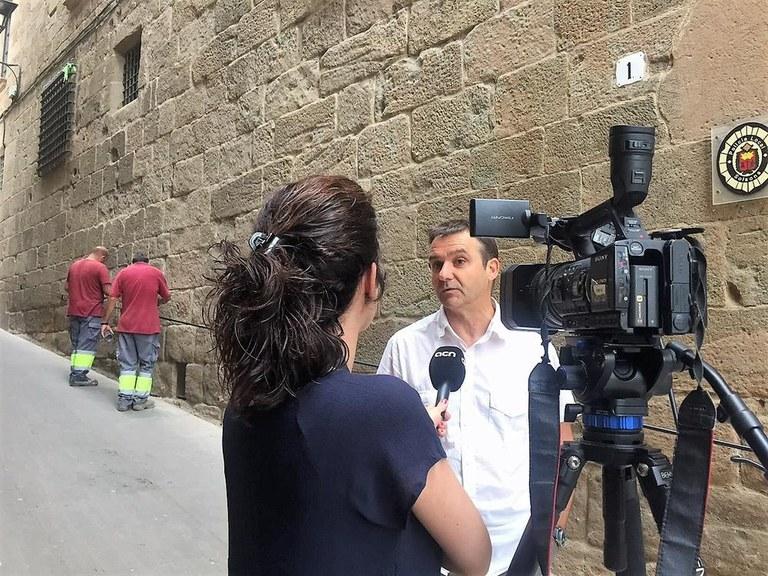 Carralero assumeix temporalment les regidories d'Urbanisme i Serveis a Solsona per la maternitat de Barrera