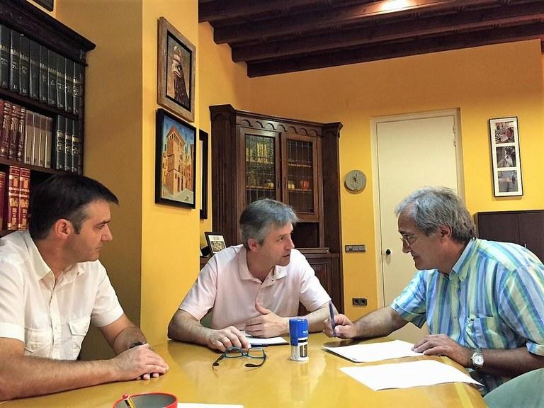 Guixers és el primer municipi que signa un conveni amb Solsona per utilitzar la gossera