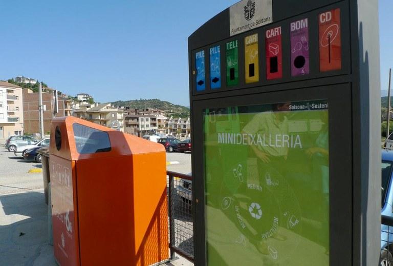 Instal·lada una minideixalleria al Camp del Serra de Solsona
