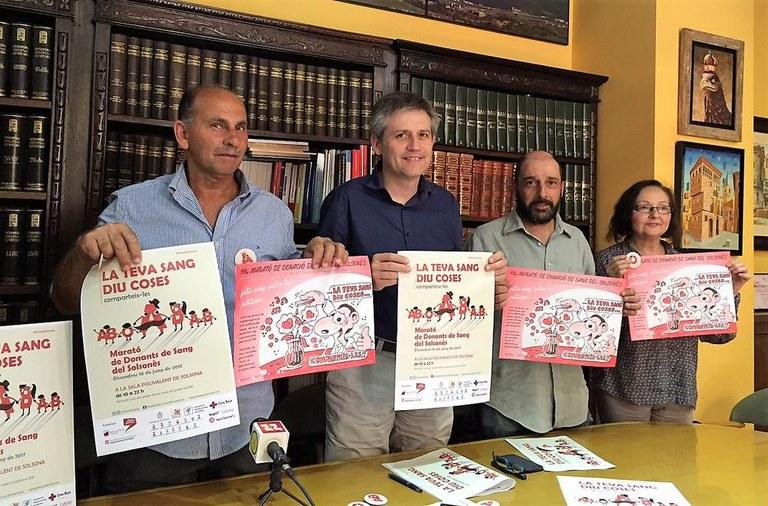 L'onzena Marató de donació de sang del Solsonès difondrà els grups sanguinis