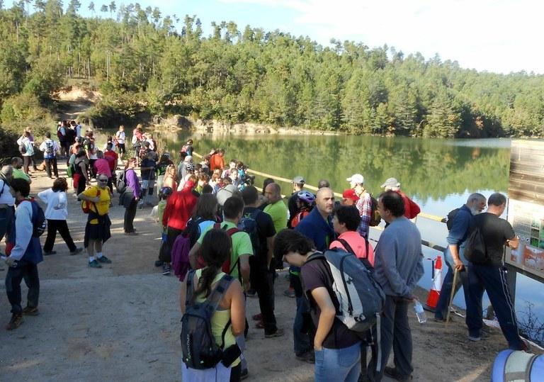 La mobilitat sostenible i segura congrega 110 participants a la caminada i la pedalada de Solsona