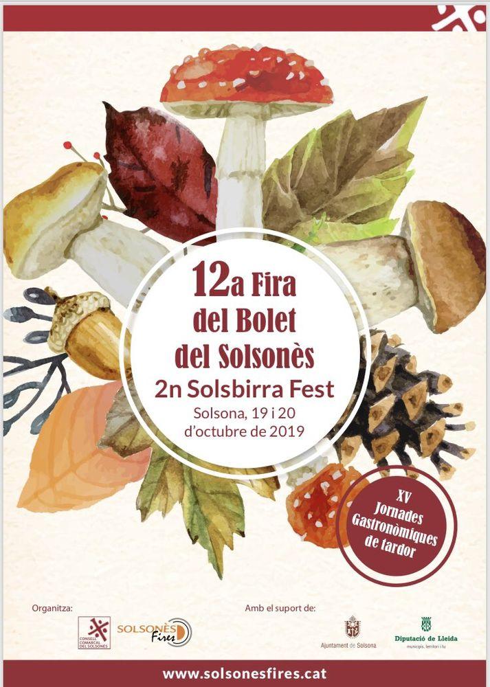 12a Fira del Bolet del Solsonès i 2n Solsbirra Fest
