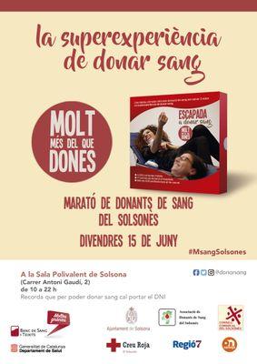 12a Marató de donació de sang