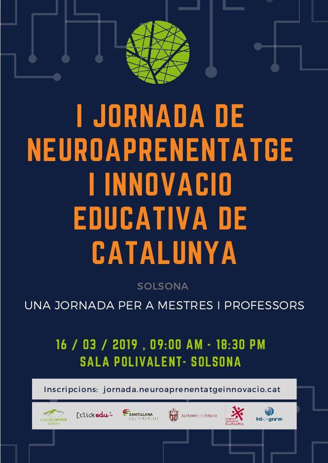 1a Jornada de neuroaprenentatge i innovació educativa de Catalunya