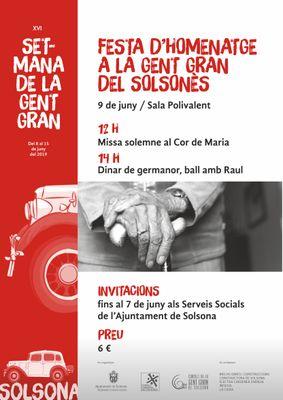 40a Festa d'homenatge a la gent gran del Solsonès