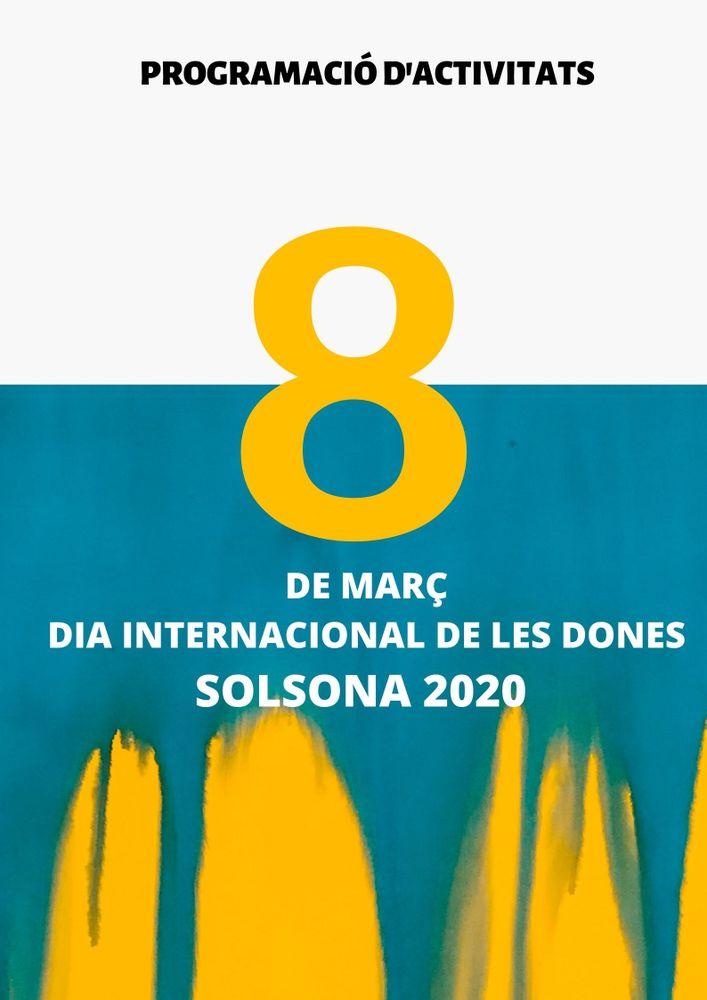 Actes lúdics, culturals i formatius per commemorar el 8M a Solsona (INFORMACIÓ ACTUALITZADA)