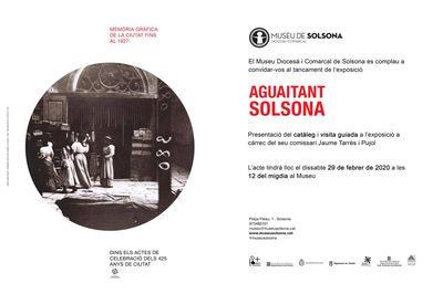 """Activitat de tancament de l'exposició """"Aguaitant Solsona"""""""