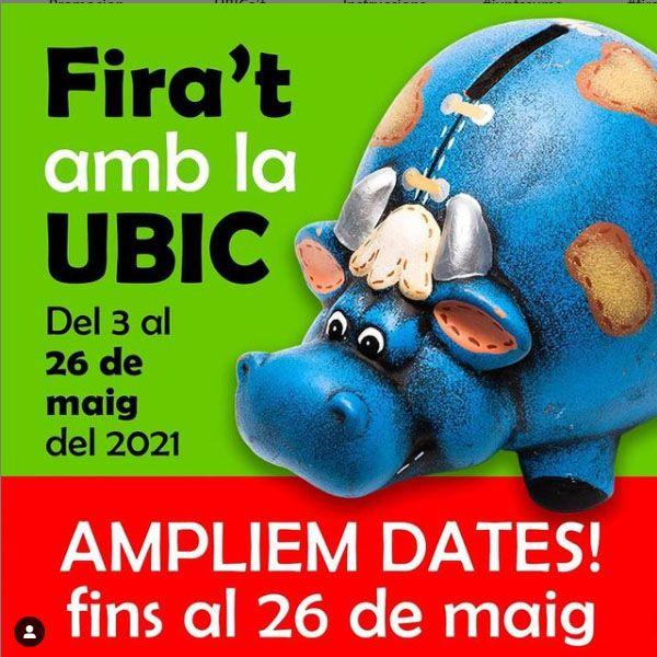 CAMPANYA COMERCIAL: 'Fira't amb la UBIC'
