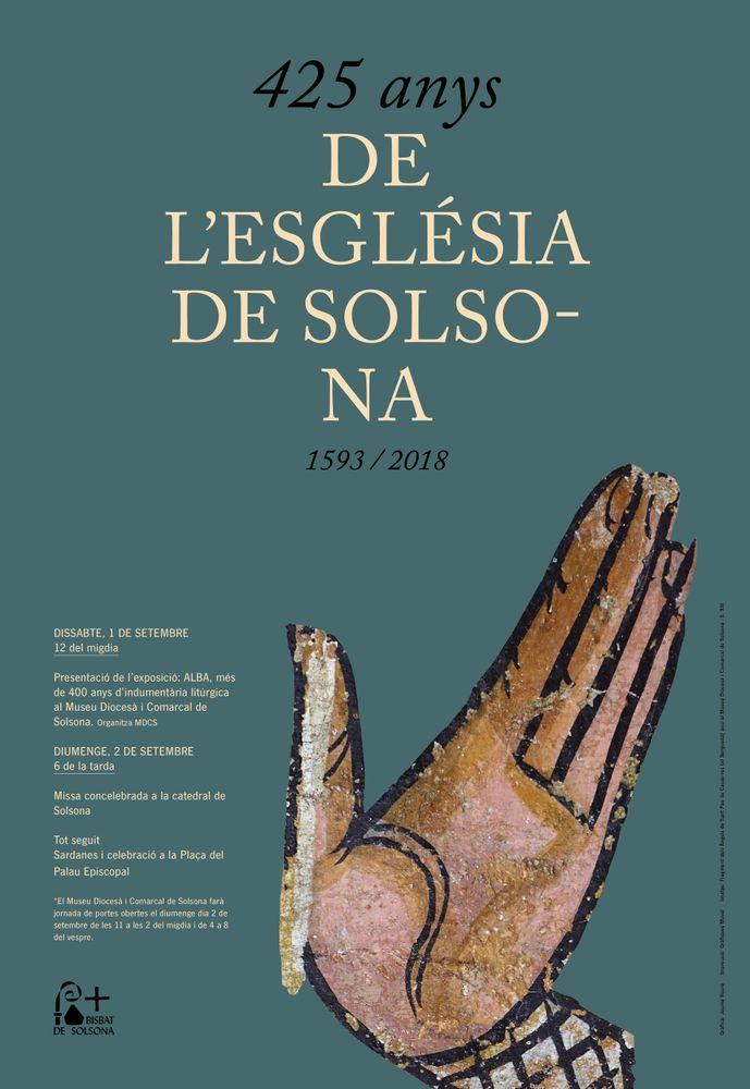 Celebració dels 425 anys del Bisbat de Solsona