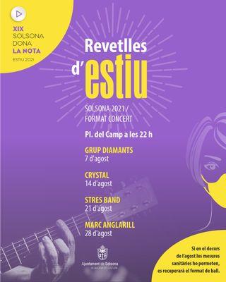 CICLE DE CONCERTS D'ESTIU: Revetlles d'estiu en format de concert