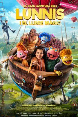 CINEMA INFANTIL EN CATALÀ: 'La gran aventura dels Lunnis i el llibre màgic'