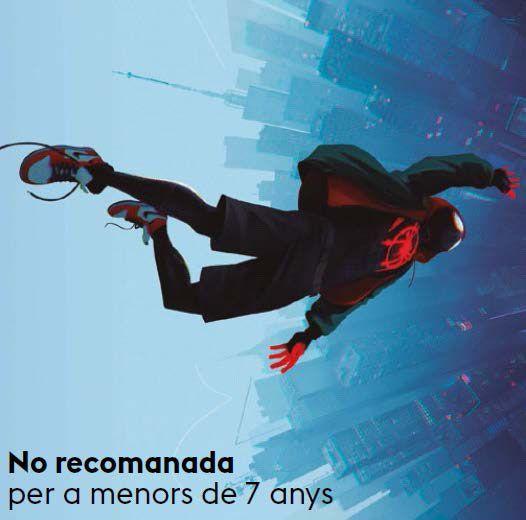 CINEMA INFANTIL EN CATALÀ: 'Spiderman. Un nou univers'