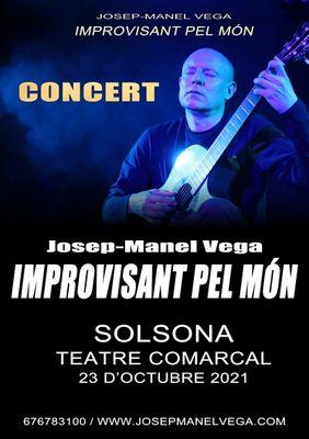 CONCERT: 'Improvisant pel món', de Josep Manel Vega
