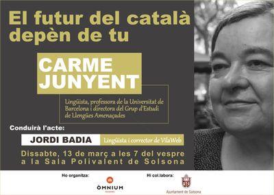 """CONFERÈNCIA: """"El futur del català depèn de tu"""""""