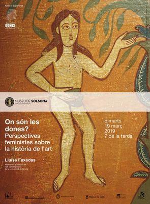 """CONFERÈNCIA: """"On són les dones? Perspectives feministes sobre la història de l'art"""""""
