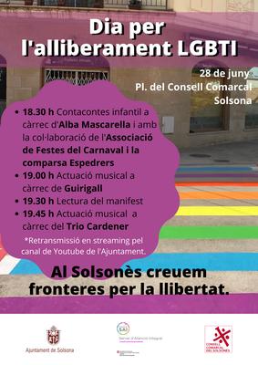 Contacontes i música per celebrar el Dia per l'alliberament LGBTI