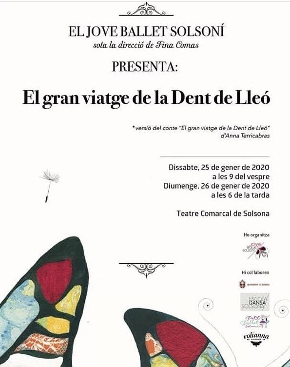 ESPECTACLE: 'El gran viatge de la dent de lleó', del Jove Ballet Solsoní