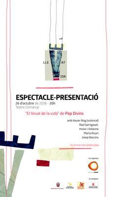 ESPECTACLE-PRESENTACIÓ DE LLIBRE: 'El llevat de la vida', de Pep Divins