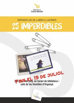 """EXPOSICIÓ-JOC: """"25 imperdibles"""""""