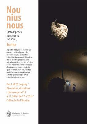 """EXPOSICIÓ: """"Nou nius nous (per a espècies humanes no tan noves)"""", de Joma"""
