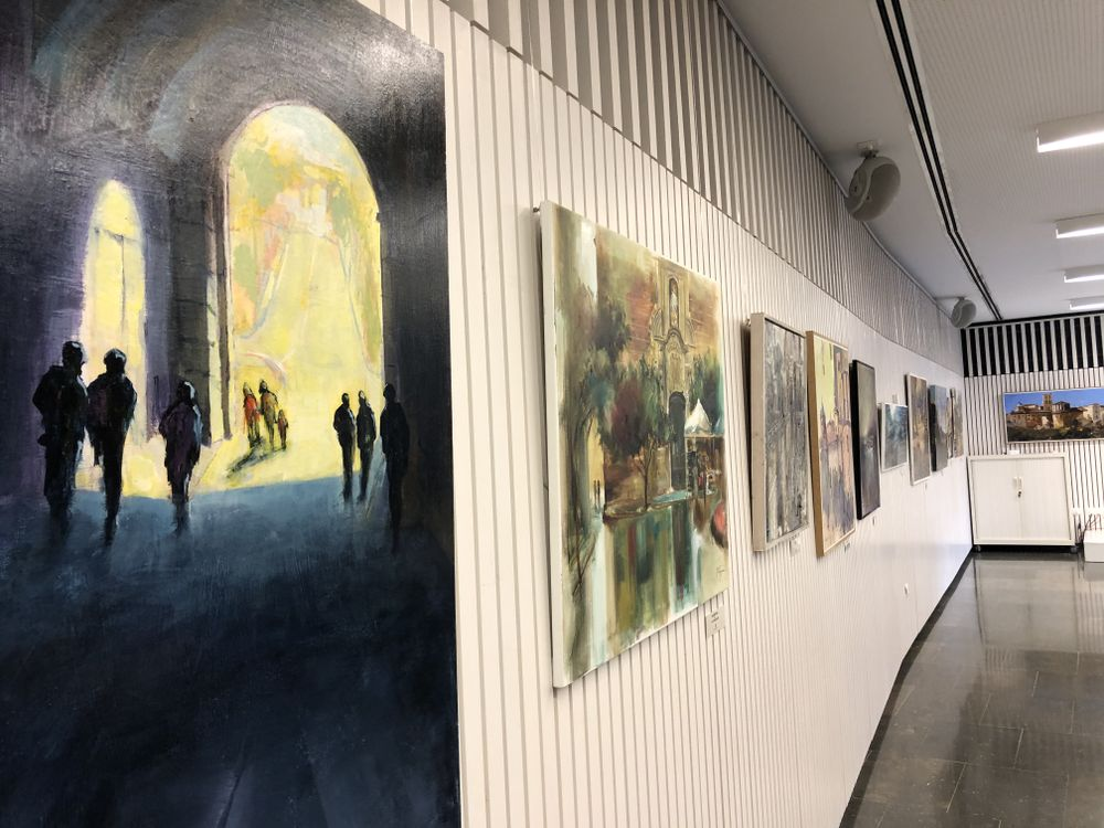 EXPOSICIÓ: Pintures i fotos de la Festa Major 2020