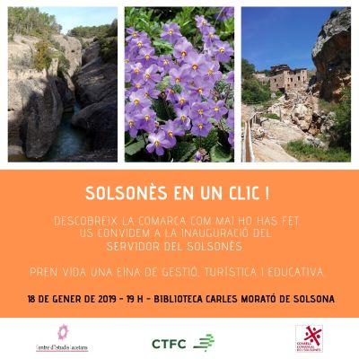 Inauguració d'una nova eina de gestió turística i educativa sobre el Solsonès
