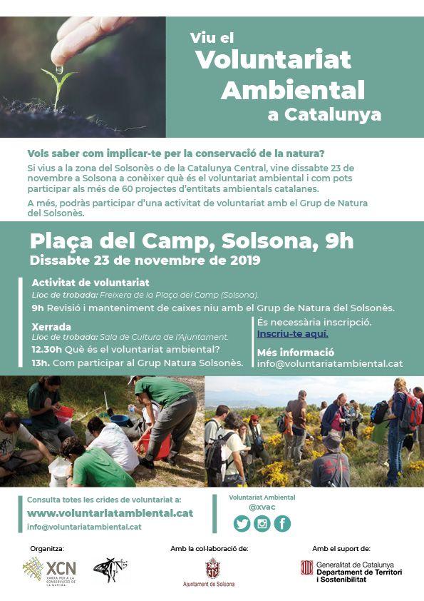 Jornada sobre el voluntariat ambiental a Catalunya