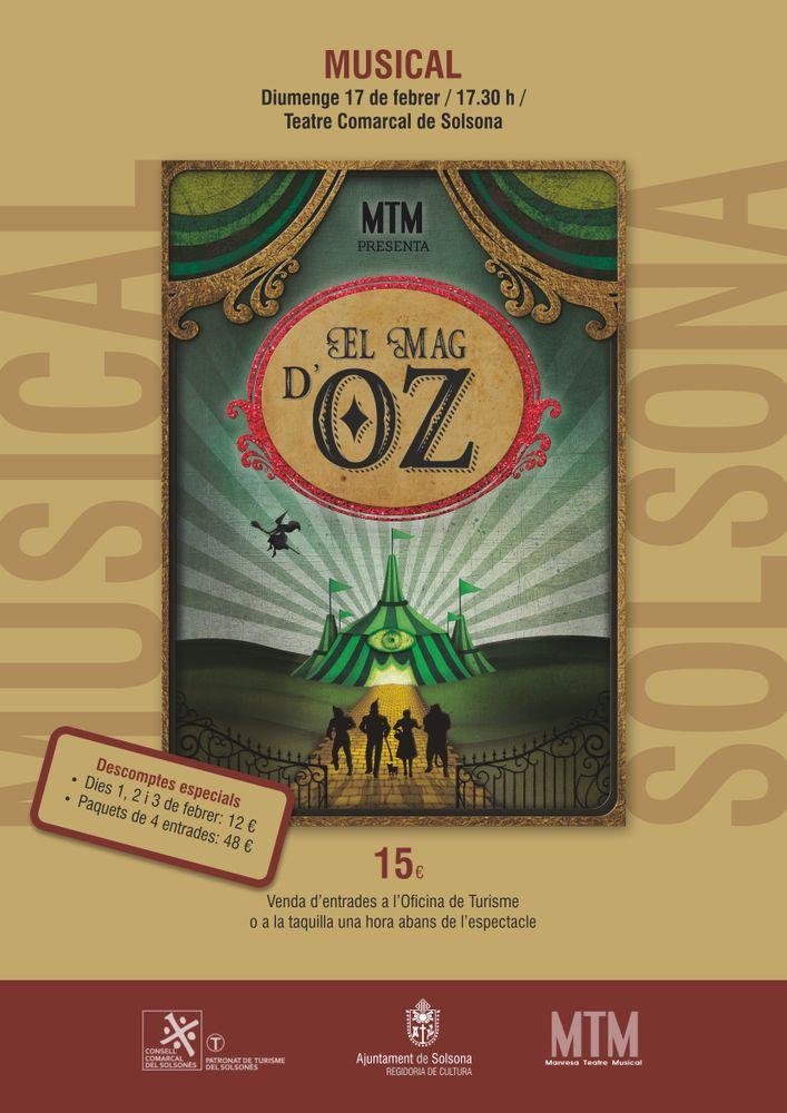 MUSICAL: 'El Mag d'Oz', a càrrec de MTM
