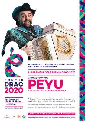 Premis Drac amb espectacle de Peyu 'L'home orquestra'