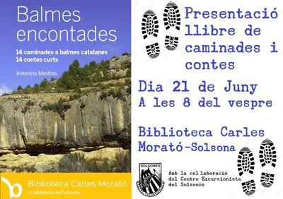 PRESENTACIÓ DE LLIBRE: 'Balmes encontades: 14 rutes a peu a balmes catalanes, 14 contes curts'