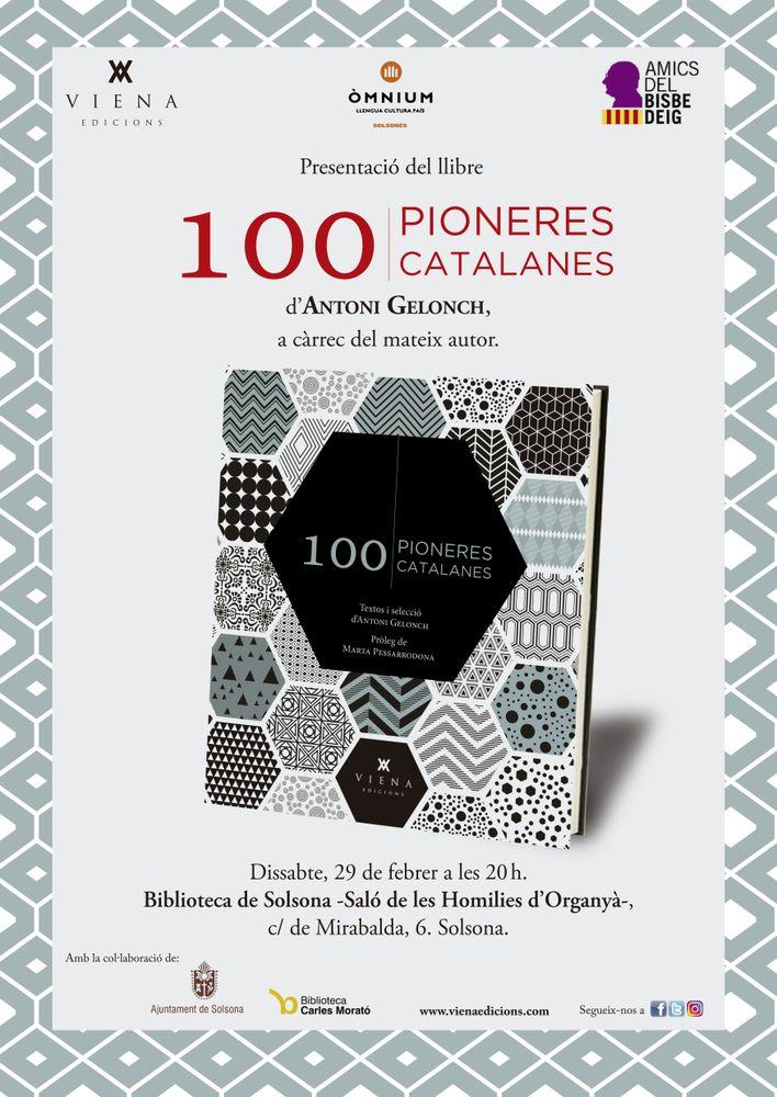 PRESENTACIÓ DE LLIBRA: '100 pioneres catalanes'