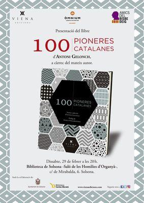 PRESENTACIÓ DE LLIBRE: '100 pioneres catalanes'