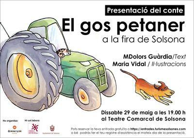 PRESENTACIÓ DE LLIBRE: 'El gos petaner a la Fira de Solsona', de M. Dolors Guàrdia