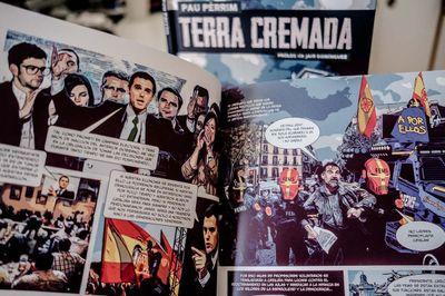 PRESENTACIÓ DE LLIBRE: 'Terra cremada', el còmic de Pau Pèrrim