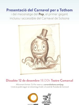 Presentació del Carnaval per a Tothom i del primer gegant inclusiu