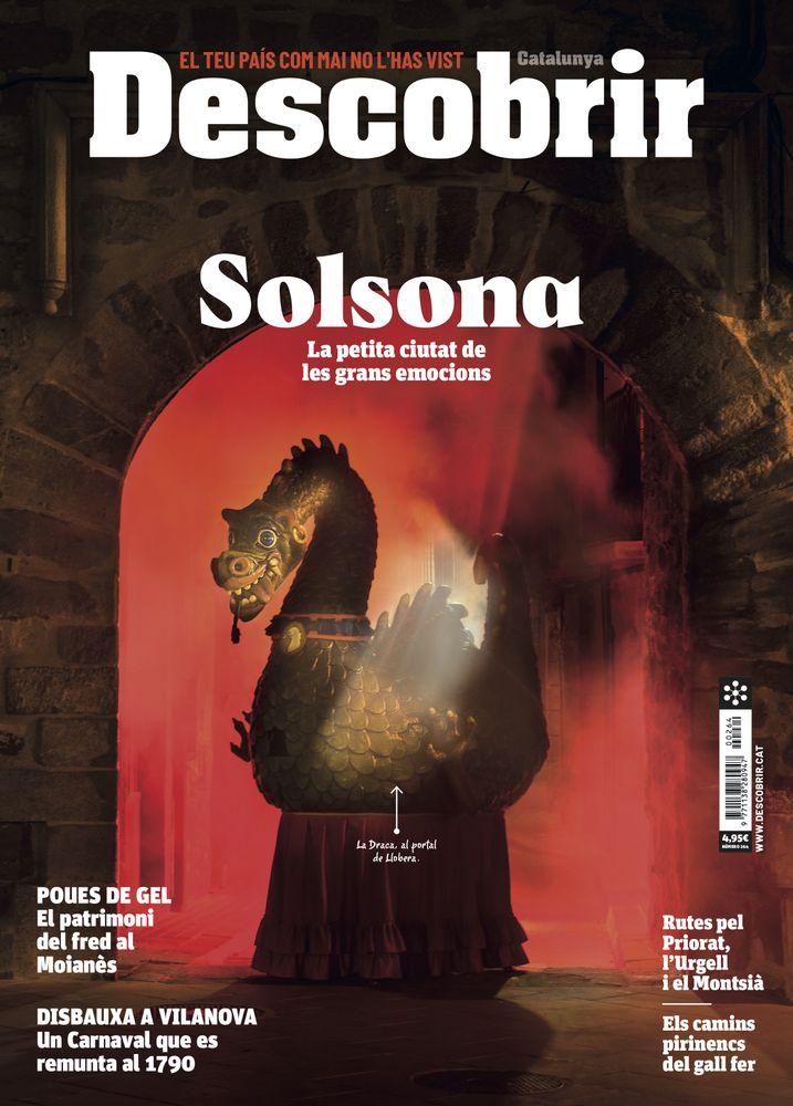 Presentació del número de febrer de la revista 'Descobrir Catalunya', dedicat a Solsona