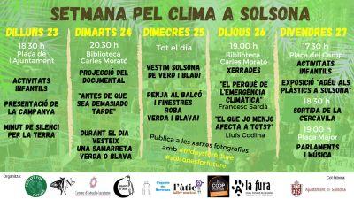 Setmana pel Clima a Solsona