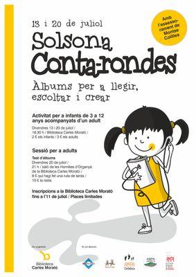 'Solsona Conta-rondes'  per al públic infantil