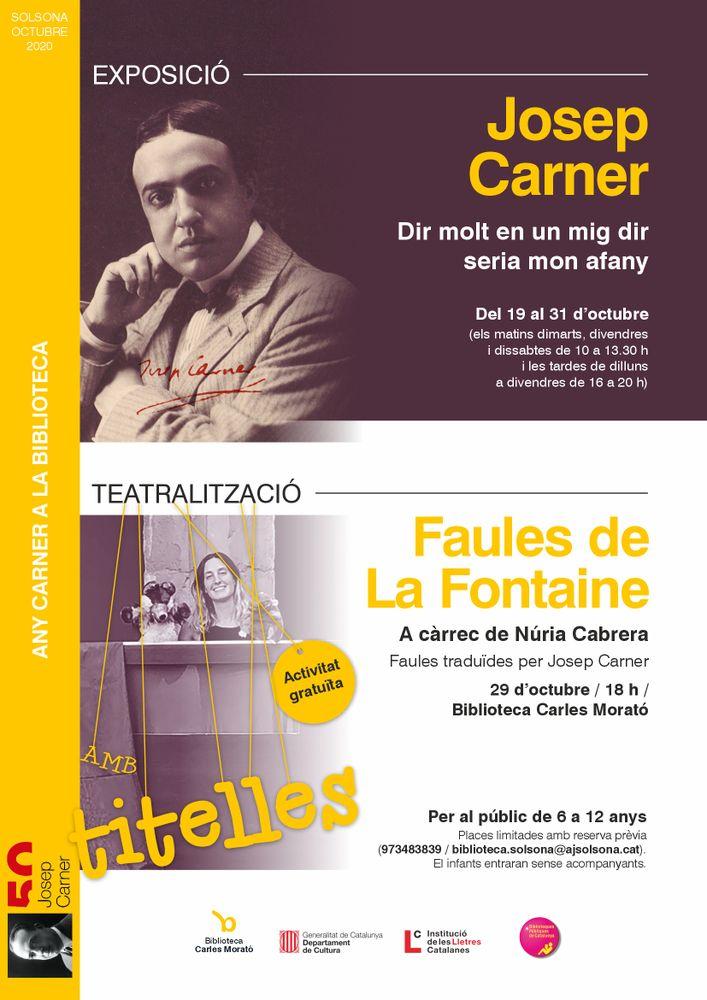 TEATRALITZACIÓ AMB TITELLES: 'Faules de La Fontaine'