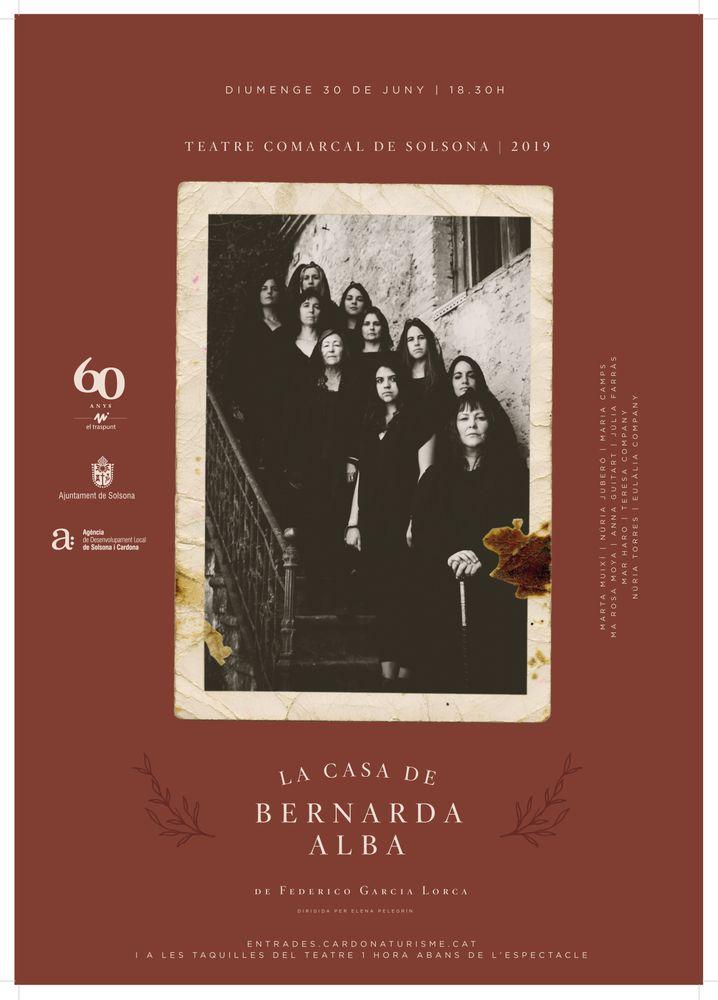 TEATRE: 'La casa de Bernarda Alba', a càrrec d'El Traspunt