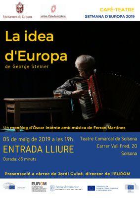TEATRE: 'La idea d'Europa', de George Steiner