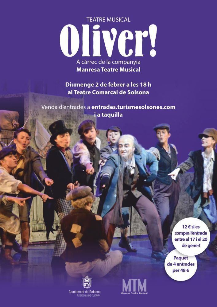 TEATRE MUSICAL: 'Oliver!', a càrrec de MTM