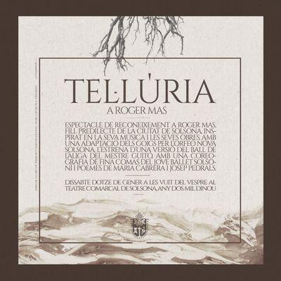 'Tel·lúria', acte artístic en reconeixement a Roger Mas