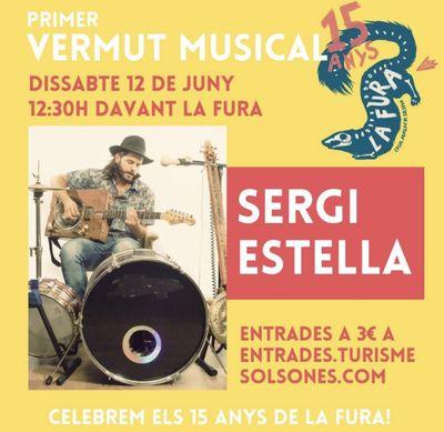 VERMUT MUSICAL: 15è aniversari del Casal La Fura amb Sergi Estella