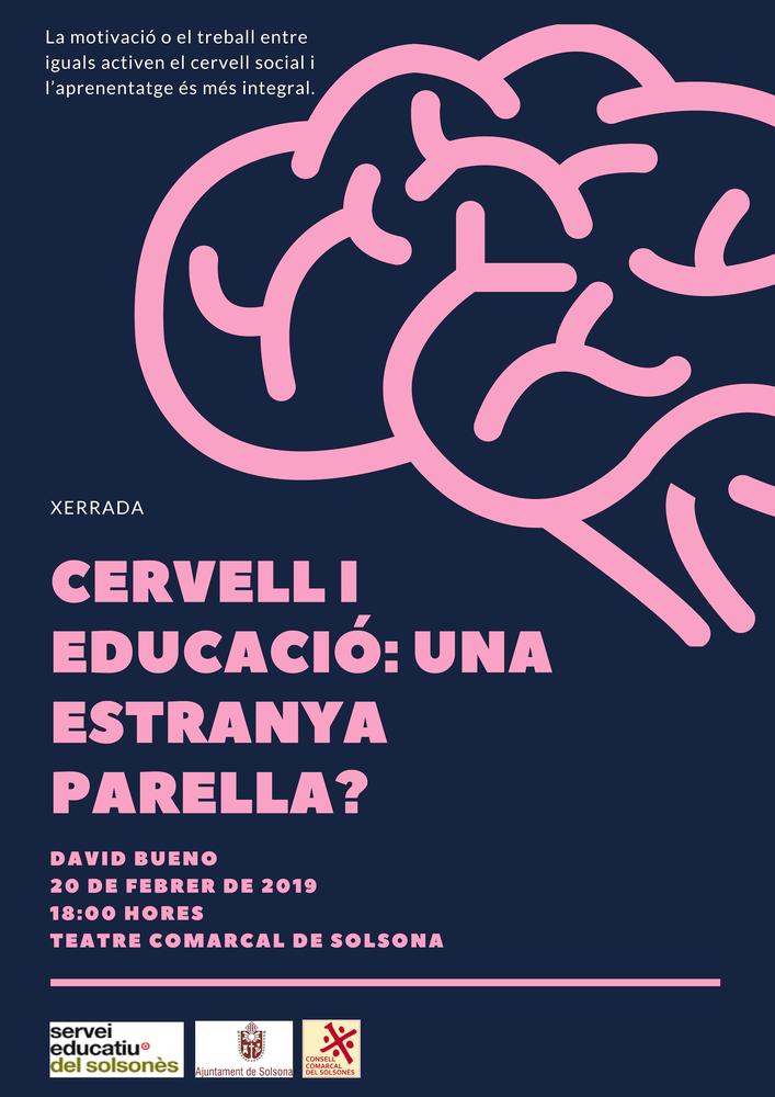 XERRADA: 'Cervell i educació: una estranya parella?', a càrrec de David Bueno