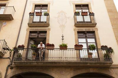 Balcons de la plaça Major (foto de Petits Fotografia)