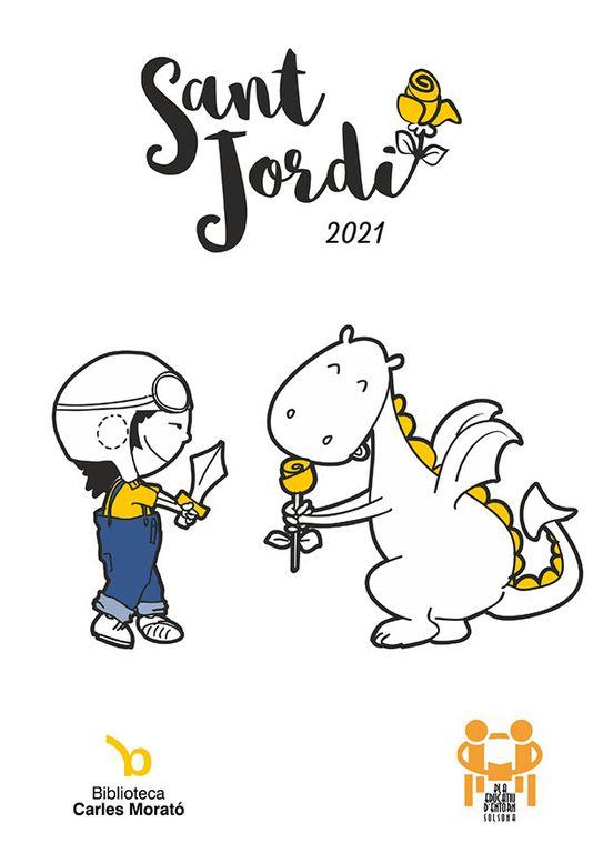 36 grups escolars participen al joc de pistes literàries de Sant Jordi de Solsona