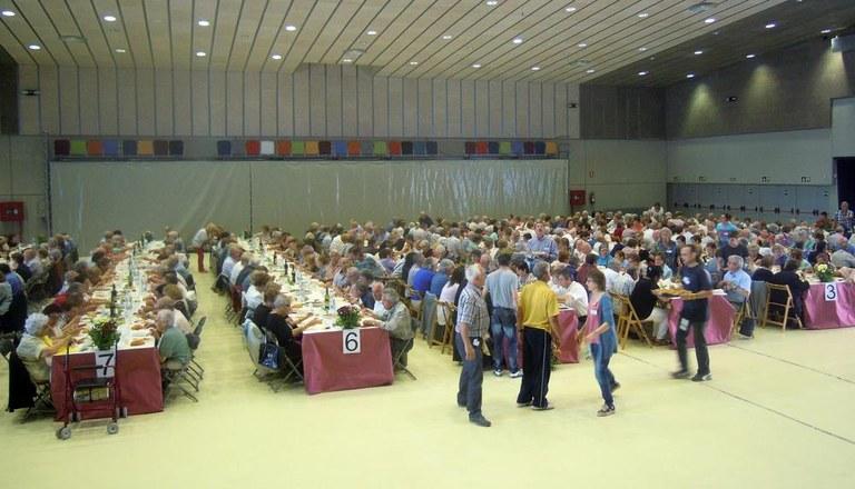 400 persones assisteixen a la 36a Festa d'homenatge a la gent gran del Solsonès
